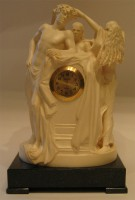 Скульптура Часы, бивень мамонта.